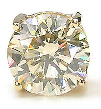 WoW LoW £! - GENUINE EGL CERTIFIED DIAMOND STUDS 14CT GOLD! - SALE ENDS SOON!!