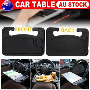 Car Steering Wheel Tray Laptop Table Mount Eating Food Stand Desk Drink Holder