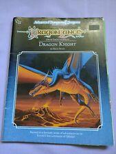 Dragonlance DRAGONS KNIGHT Advanced Dungeons & Dragons TSR 1990 game adventure