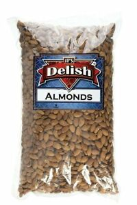Gourmet Whole Almonds Roasted Unsalted by Its Delish