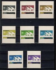 ++ 1976 Olympic Games 3,6 Nominal in Different Colour Thick Paper
