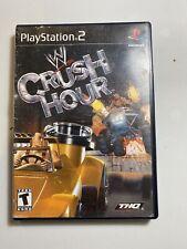 WWE Crush Hour (PS2, 2003) Black Label