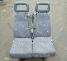 96 05 LDV CONVOY 400 MINIBUS THIRD ROW DOUBLE SEAT BLUE FABRIC REF FE78 #1589