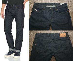 Men's DIESEL WAYKEE dark indigo regular jeans W38 L29 - Immaculate 0088Z