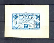 FRANCE COLONY 1906 ALGERIA ALGERIE PROOF (*) --VF