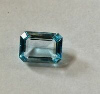 12.30 CTS SKY BLUE TOPAZ OCTAGON CUT 16x12 MM LOOSE GEMSTONE