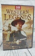 Western Legends 50 Classic Cowboy Movies John Wayne Roy Rogers Autry DVD Box Set