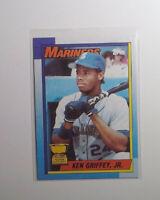 "1990 Topps Baseball #336 Ken Griffey, Jr. ""Bloody Scar"" Error Card Mariners"