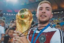 CHRISTOPH KRAMER 5 DFB WM 2014 Gladbach Foto 13x18 signiert IN PERSON Autogramm