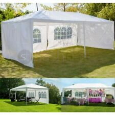 More details for gazebo marquee party tent with sides waterproof garden patio outdoor canopy 3x6m