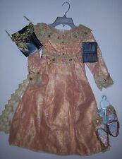 NWT Disney Store XS 4/4T Deluxe Aurora Costume Dress Tiara & Shoes - Maleficent