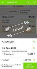2 x Flixbus Freifahrt Gutschein ■■●Gesamtnetz●■■