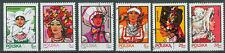 Polen Briefmarken 1983 Kopfbedeckungen Mi.Nr.2891-2896