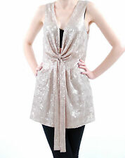 Free People Women's Paris Rock Mini Dress Sequined French Rose XS BCF59