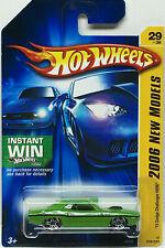Hot Wheels 2006 Nuevo Modelos '70 Dodge Challenger Hemi (Lima) #029