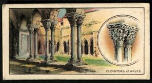 Tobacco Card, CWS, FAMOUS BUILDINGS, 1935, Closters of Arles, #13