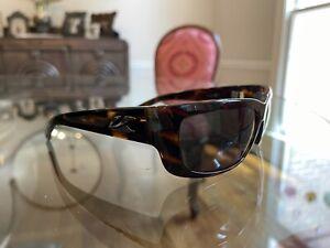 KAENON Polarized Brown Tortoise Shell Kabin Sunglasses w/case