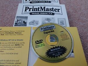 PrintMaster Platinum 0.7 With Books PRICE DROP free UK postage