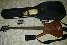 Warwick Corvette Standard (German Made) Bass Guitar with add-ons