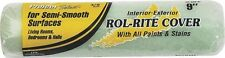 "New Factory Case Of (24) Linzer Rr 938 3/8"" X 9"" Smooth Paint Roller Cover Naps"