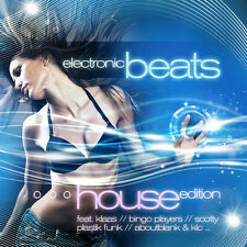CD Electronic Beats House Edition d'Artistes divers 2CDs