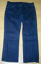 CITIZENS OF HUNANITY CROPPED LOW RISE CAPRI JEANS SZ 27 MEASURE (30x23) USA MADE