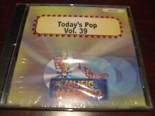MUSIC MAESTRO KARAOKE 6424 TODAY'S POP HITS VOL 39 CD+G OOP SEALED
