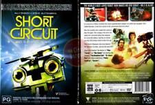 SHORT CIRCUIT Ally Sheedy Steve Guttenberg robot DVD R4 (Region 4 Australia)
