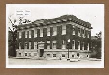 RPPC Kenosha,WI Wisconsin, Kenosha Clinic, brick street, Grogan Photo