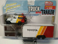 Johnny Lightning Mijo Exclusive Truck & Trailer 1980 Toyota Land Cruiser (Cart)