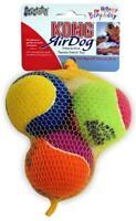 Kong Air Dog 3 Pack Happy Birthday Tennis Balls Fetch Toy