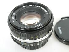 NIKON LENS SERIES E 1,8/50 50mm 1:1,8 f=50 mm 1:1,8