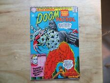 1966 SILVER AGE DC DOOM PATROL # 106 SIGNED BY CREATOR ARNOLD DRAKE, WITH POA