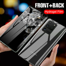 Hydrogel Film Matte Screen Protector Samsung Galaxy S20 Plus S10 S9 Note 10 A71