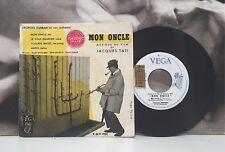 MON ONCLE - MUSIQUE DU FILM DE JACQUES TATI EP FRA 1959 GEORGE DURBAN ORCH. VEGA