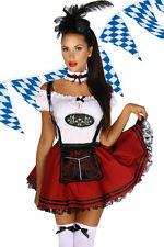 Dirndl Kostüm Outfit XS-M 34-36-38 Oktoberfest Dirndlkostüm Fasching