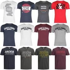 Jack & Jones Herren T-Shirt Freizeit Kurzarm Sport Clubwear Party UVP bis 14,95€