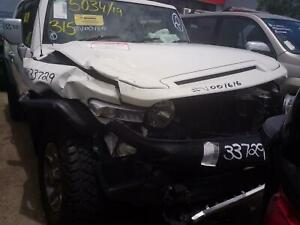 TOYOTA FJ CRUISER 2012 VEHICLE WRECKING PARTS ## V001616 ##