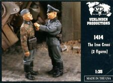Verlinden 1:35 The Iron Cross 2 Resin Figures Kit #1414