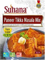 Paneer Tikka Masala Mix - 50gm Medium Spiced, Easy Cook (By Suhana)