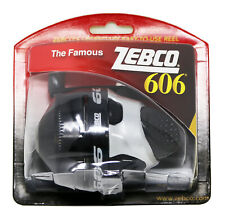Zebco 606 Spincast Reel Freshwatet 3.0:1 Gear Ratio 20lb Line Test Right Hand