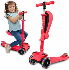KicksyWheels Scooters for Kids - 3 Wheel Toddler Scooter for Boys & Girls -.