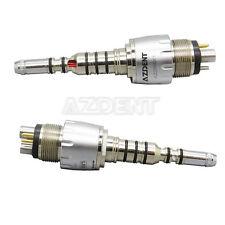 SALE 2*Dental LED Multiflex Quick Coupling 360° For KAVO Fiber Optic Handpiece