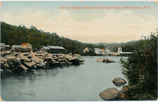 ADIRONDACK MOUNTAINS NY - On the Hudson River at Riverside Camp - 1917