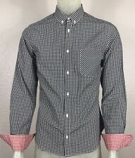 Plectrum By Ben Sherman Men's Button Front Checkered Shirt SZ. Small/Medium