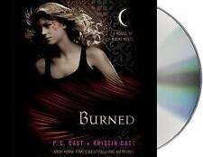 House of Night Novels: Burned 7 by P. C. Cast and Kristin Cast (2010, CD, Unabr…