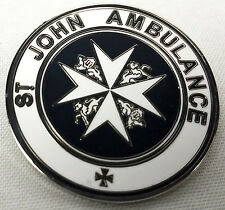 TARDIS St. John Ambulance Sign - Doctor Who TV Series Enamel Pin - Peter Capaldi