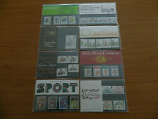 1980 YEAR SET OF 8 PRESENTATION PACKS ( Nos 115 to 122 ) IN MINT CONDITION