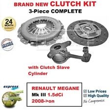 FWD Coupe K9KH 834 RENAULT MEGANE Mk III 1.5dCi Clutch Kit 3pc 90 11//08