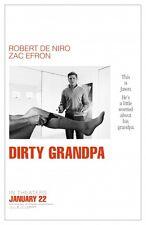 Dirty Grandpa -  original DS movie poster - D/S 27x40 Advance DeNiro, Efron
